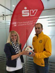 SV Versicherungen spendet erneut den Derby-Ball