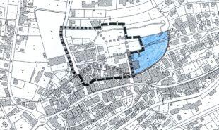 Parkgelände östlich der Sparkasse nicht im Bebauungsplan »Rundofen«