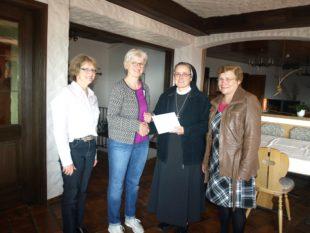 Kath. Frauengemeinschaft unterstützt das Hospiz »Haus Maria Frieden«