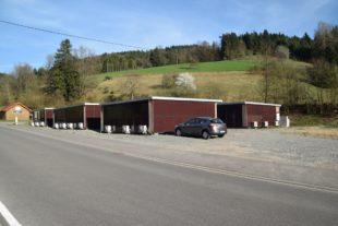 Wohncontainer ziehen nach Wolfach