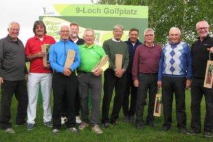 Brutto-Sieg in der Teamwertung für die Gröbernhof-Senioren