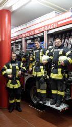 Atemschutzträger für Nordracher Feuerwehr