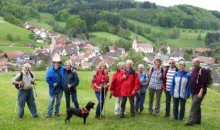 Herrlicher Wandertag bei Panoramarunde über dem hinteren Schuttertal