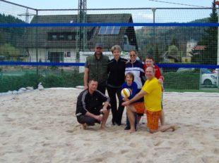 Beach-Volleyball-Anlage hat wieder Saison