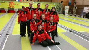 Deutsche U18-Mädels feiern Silber