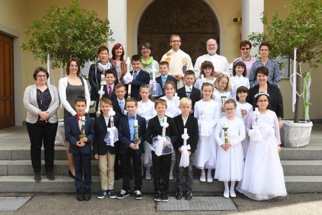 Feierliche Erstkommunion in St. Blasius