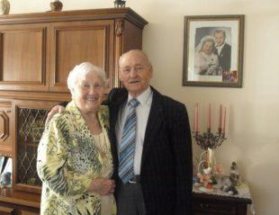 Anna und Erwin Herrmann feiern  am Sonntag diamantene Hochzeit