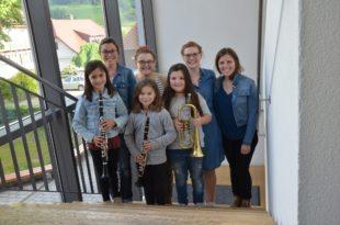 Musikverein Entersbach freut sich über Nachwuchsmusiker