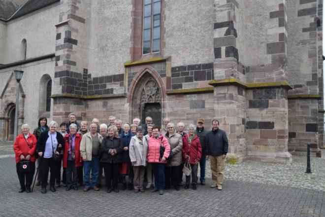Altenwerk Nordrach fährt zum Kaiserstuhl und nach Breisach