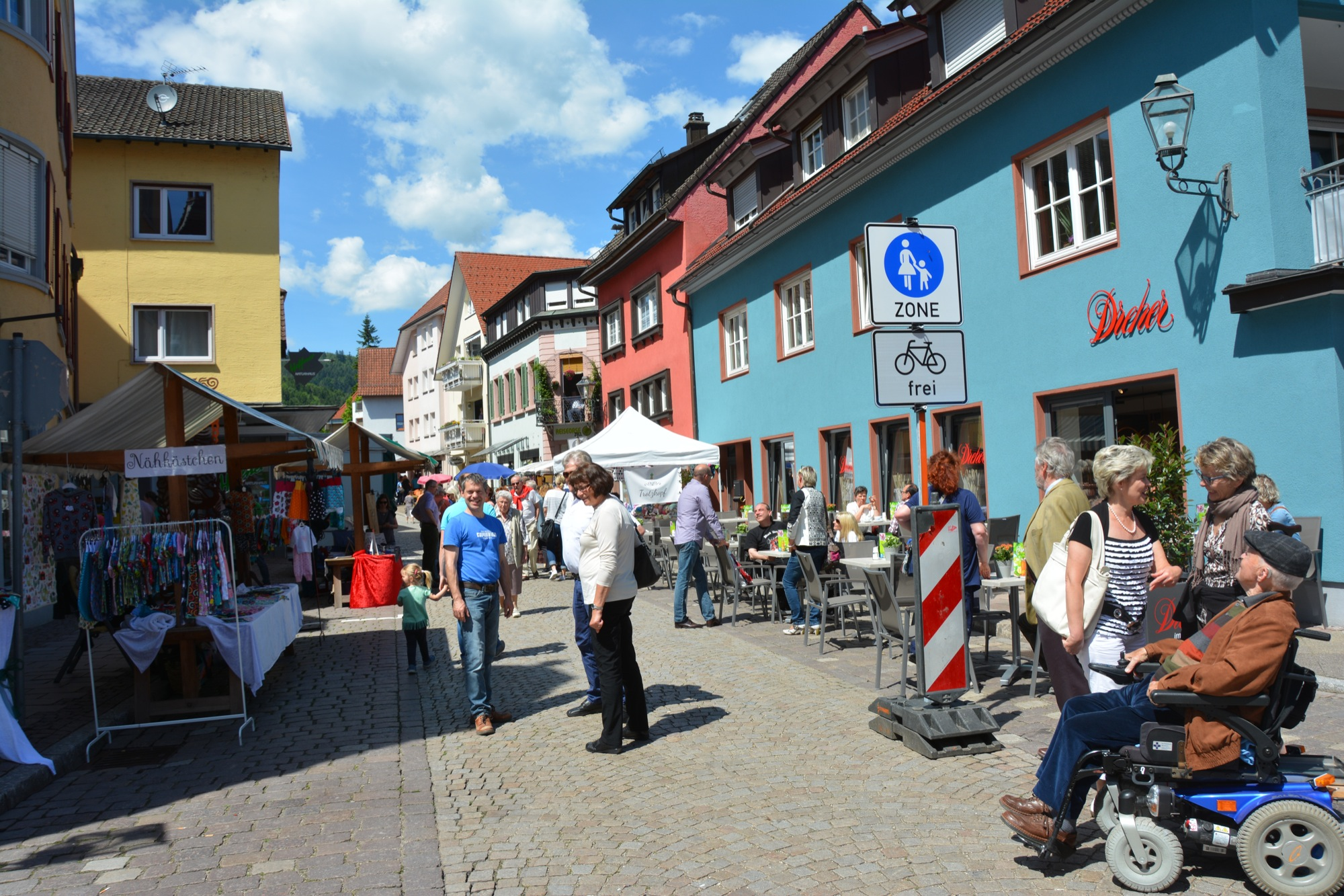 Fußgängerzone Zell Am Harmersbach Schwarzwälder Post