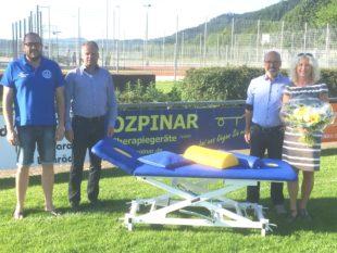 »Özpinar Therapiegeräte GmbH« spendet an den FV Biberach