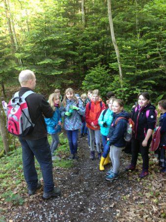 Unterricht im Zeichen von Umwelt- und Naturschutz