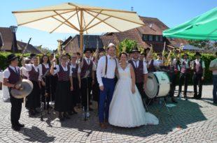 Tamara und Daniel Vollmer feierten Hochzeit