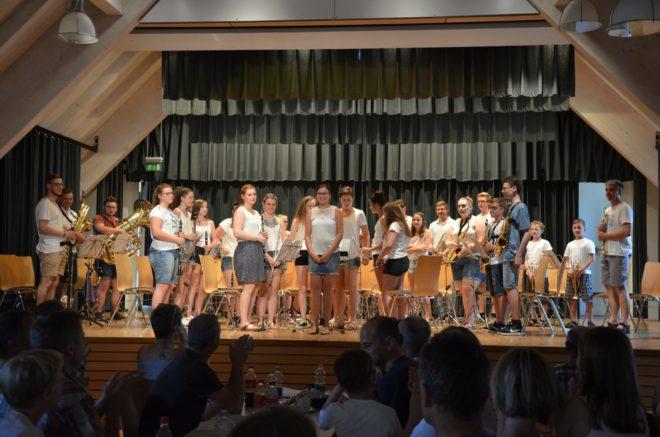 Konzert der Entersbacher Jugendkapelle