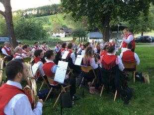 Musikkapelle unterhielt mit Stücken aus ihrem Jahresprogramm