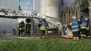 Brand in der Härterei löste Großalarm aus