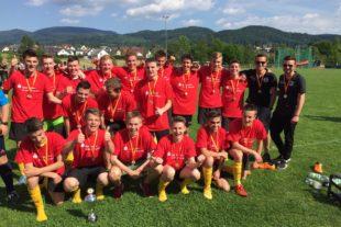 Die B-Junioren der SG Zeller FV sind Bezirkspokalsieger 2017