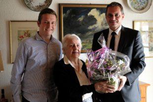 Martha Riebl feierte 95. Wiegenfest