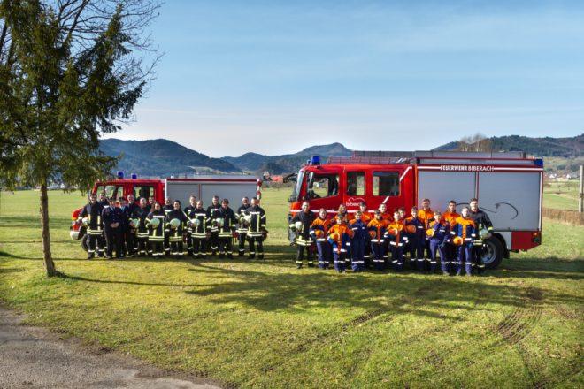 Doppeltes Feuerwehr-Jubiläum in Biberach-Prinzbach