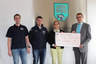 Sparkasse Haslach-Zell unterstützt Ehrenamt mit 750 Euro