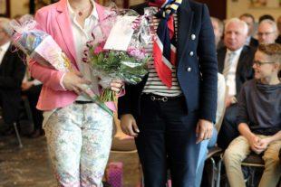 Alexandra Maginot als Schulleiterin begrüßt