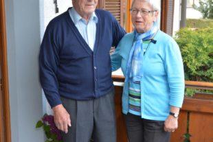 Franz und Anneliese Huber feiern das Fest der goldenen Hochzeit