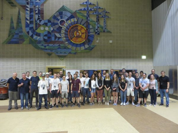 AAM-Auszubildende besuchten das Pumpspeicherkraftwerk in Wehr