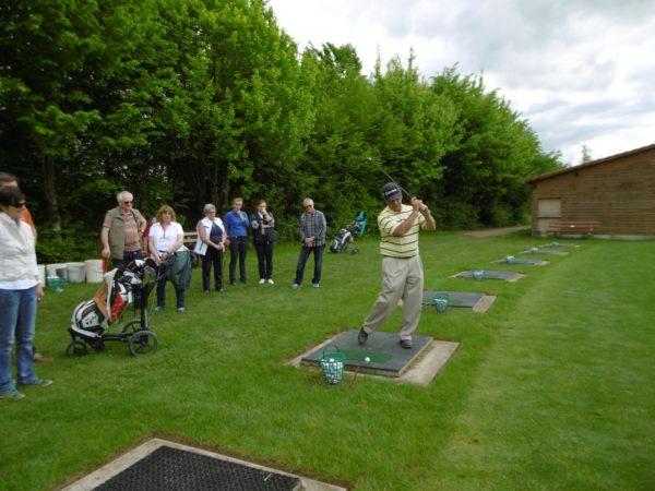 Offene Tür beim Golferlebnistag im Gröbernhof mit Schnuppergolfen