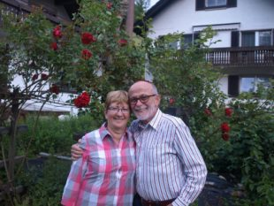 Friedebert und Anneliese Stehle feiern Fest der goldenen Hochzeit