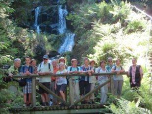 Wanderer erleben Naturschauspiel »Gertelbachwasserfälle«