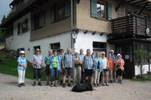Vom Fohrenbühl zum Naturfreundehaus Sommerecke