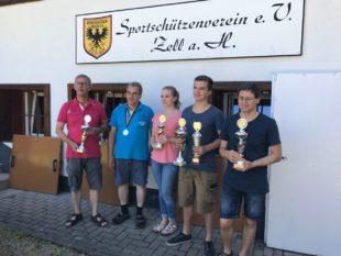 Lorenz Schießl gewinntSchießwettbewerb