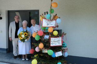 Anneli Herrmann feierte ihren 80. Geburtstag