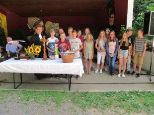 Evangelische Kirchengemeinde feierte »Gottesdienst im Grünen«