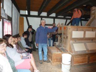 Über 200 Besucher besichtigten die historische »Maile-Gießler-Mühle«