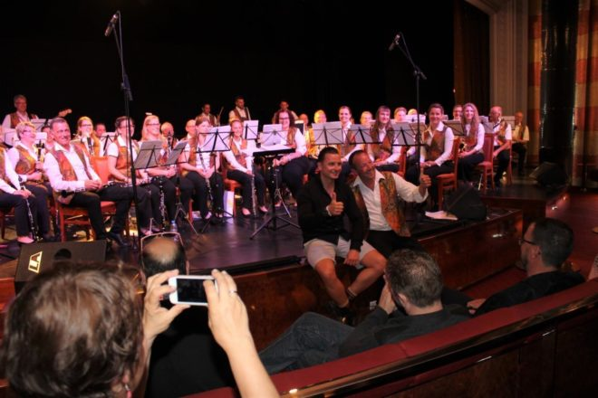Blasorchester Biberach ist zurück von seiner Konzertreise auf der »MSC Sinfonia«