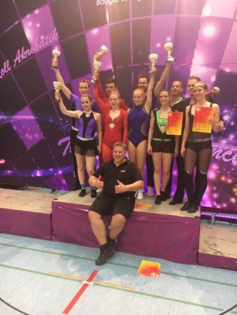 Katrin und Elias vom TSC-Harmersbachtal gewinnen den Deutschland-Cup 2017