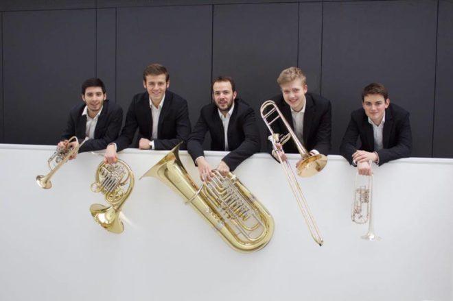 »Karidion Brass« spielt Blechbläserkammermusik in der Pfarrkirche