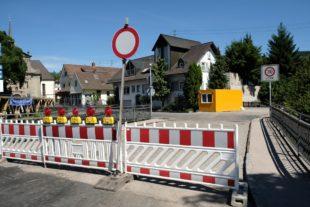 Sperrung der Lindenbrücke wird am Montag aufgehoben
