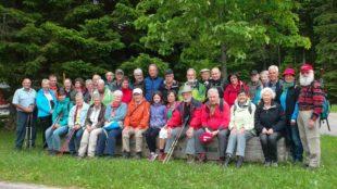Gemeinsame Tour am Pfingstmontag nach Schönwald