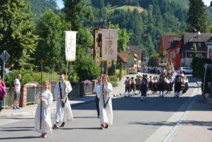 Fronleichnam in Nordrach