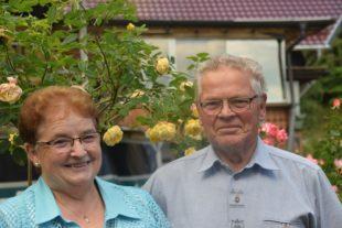 Albert und Annemarie Fautz feiern das Fest der goldenen Hochzeit