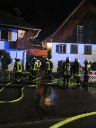 Feuer im Lagerraum ausgebrochen