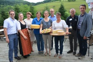 Käse aus dem Schwarzwald auf der Speisekarte