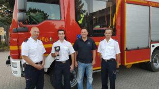 Wärmebildkamera unterstützt nun Feuerwehr Zell bei ihren Einsätzen