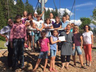 Kommunionkinder spenden für die Rehaklinik Katharinenhöhe