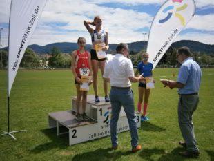 Nora Wälde erringt Meister-Titel im 800 Meter-Lauf
