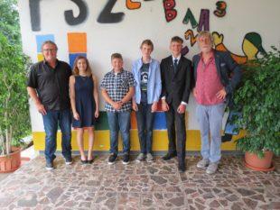 Schulzeit am SBBZ Lernen ging für vier Schüler zu Ende