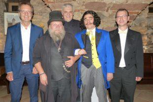 »Graf Magga« feierte seinen 200. Geburtstag mit 30 Gästen im »Bärenkeller«