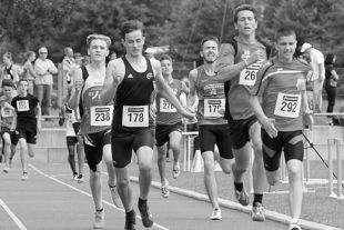Nachwuchs-Leichtathleten gingen auf Titeljagd
